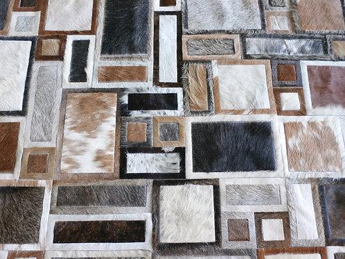 Montevideo hide rug