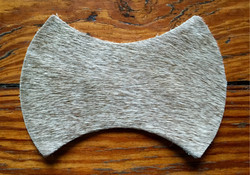Taupe hide