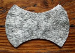 Grey brindle hide
