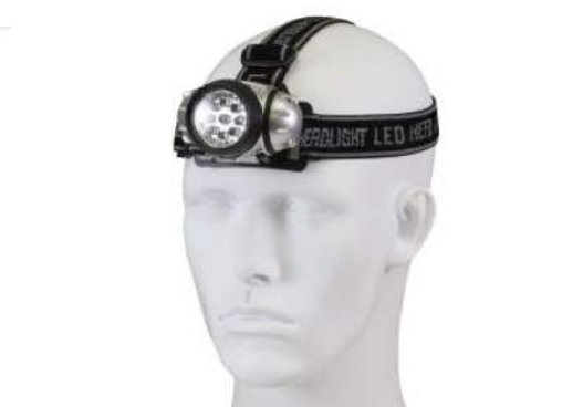 9-Bulb LED Headlamp
