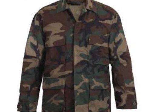 Woodland Camo shirt (BDU or CCU)