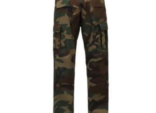 Woodland Camo Pants (BDU or CCU)