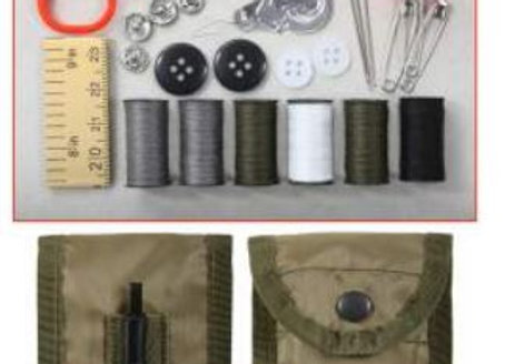G.I. Style Sewing Kit is the perfect addition to your camping or bug out bag.