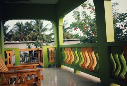 Doranja House I - Upstairs Balcony