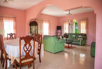 Doranja House I - Upstairs - Living/Dining Room for guests.