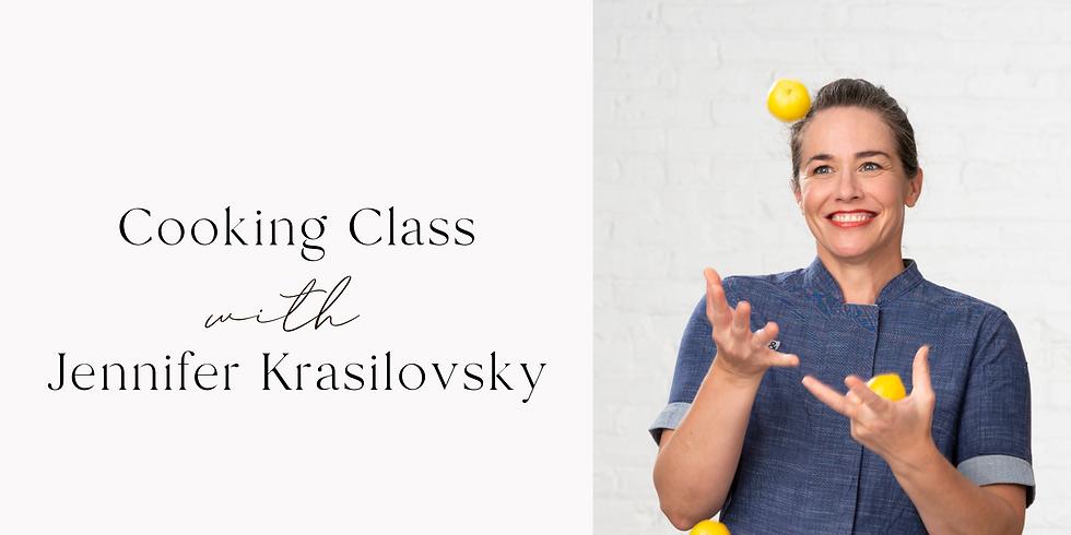 Cooking Class with Jennifer Krasilovsky