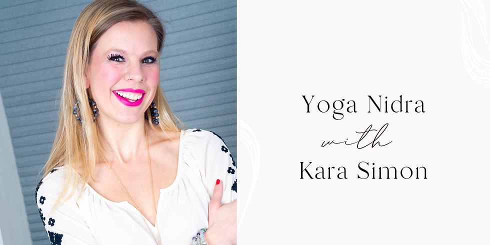 Yoga Nidra with Kara Simon