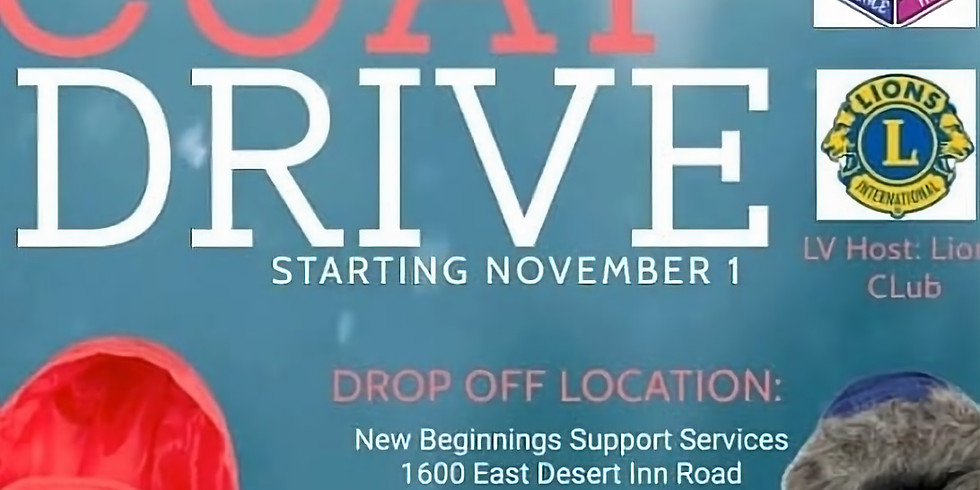 Coat and blankets  drive