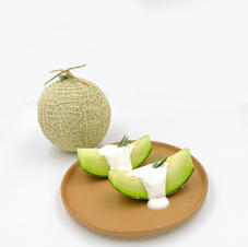 Fresh cream Melon