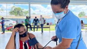 Prefeitura realiza edição do Programa Saúde na Comunidade no bairro Nossa Senhora das Graças