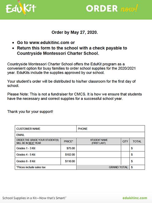CMCS Edukits Grades 1-3