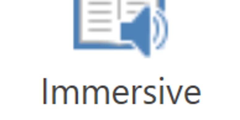 Immersive Reader webinar