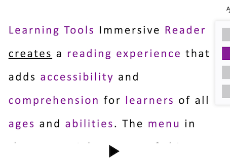 Improve reading and writing with Learning Tools inside Microsoft 365