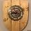 Thumbnail: Wall 'shield inspired' Bicycle cog/disc Clock
