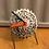 Thumbnail: Custom made bike cog desk clock on spoke stand