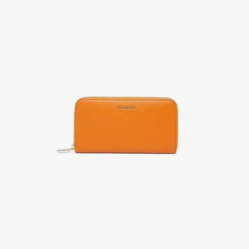 Metallic Soft Wallet (Zip Around)