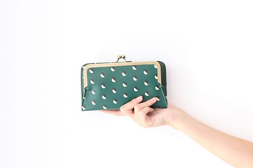Splitted Small Dot Frame Wallet