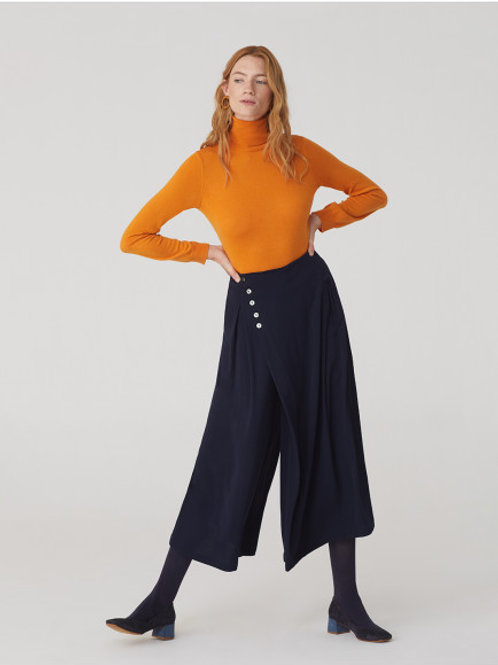 Side Buttons Culottes