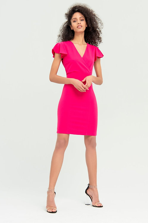 Pencil Dress Fuschia