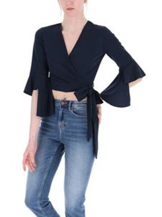 Cropped Top Dark Blue