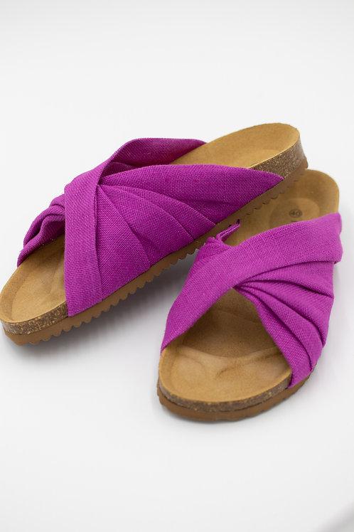Linen Bio Sandals