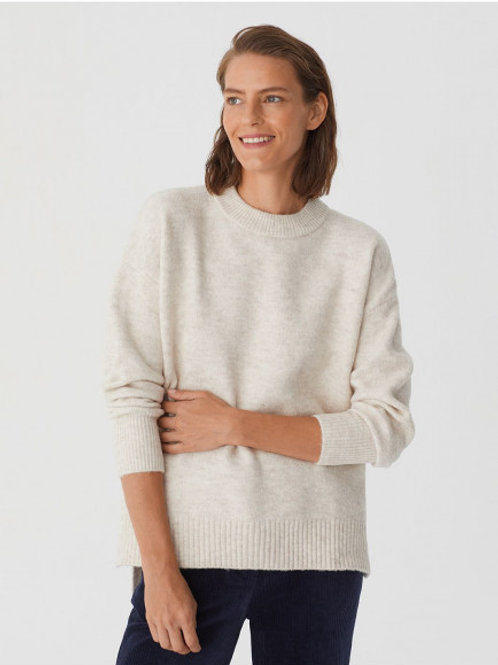 """Recycled """"PES"""" oversize sweater"""