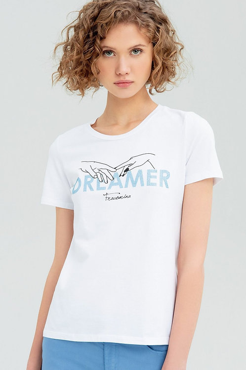 T-shirt with Dreamer print