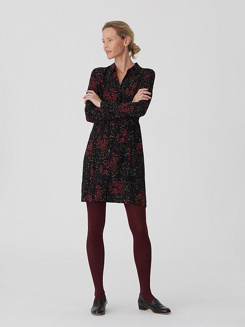 Adiantum print shirt dress