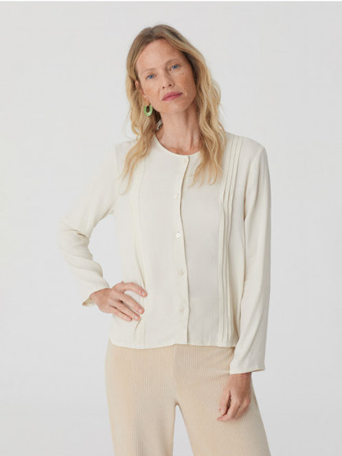 Pleated top sustainable
