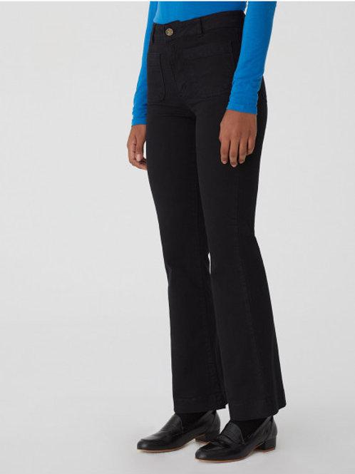 Pockets bootcut pants