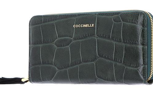 Tassel Croco Maxi Wallet