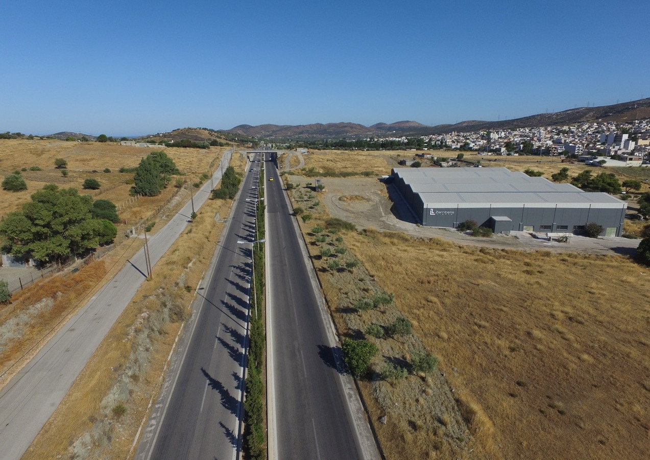 Keratea Warehouse Aerial View