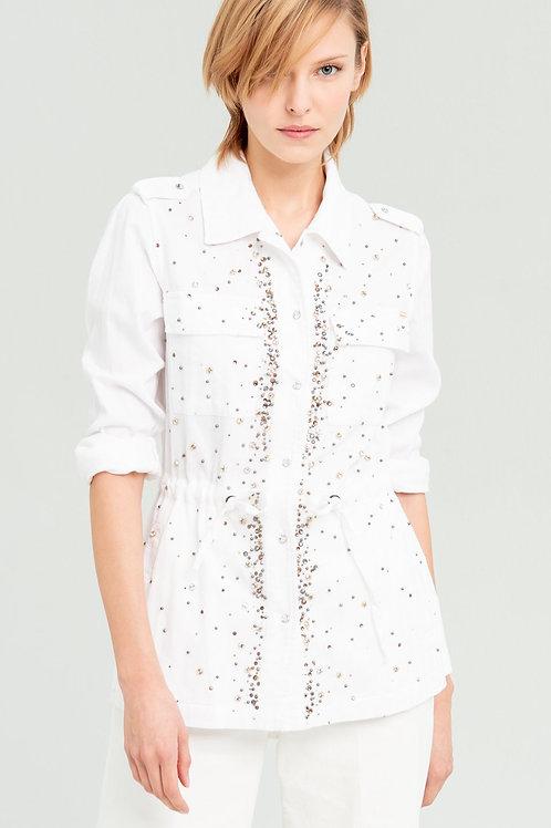 Sahariana Jacket White
