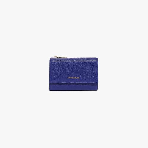 Metallic Soft Wallet Medium