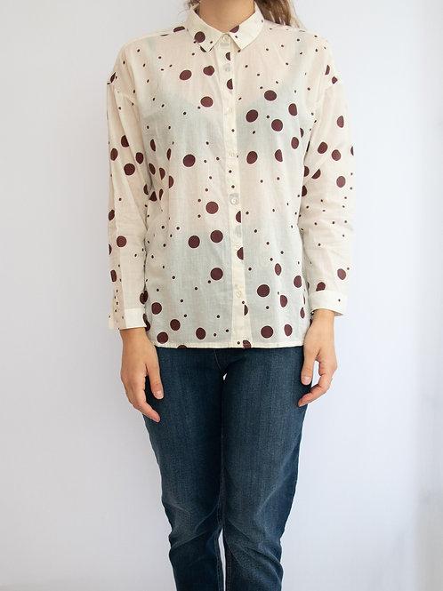 'Sophie Dots Print' #95 Basic Shirt
