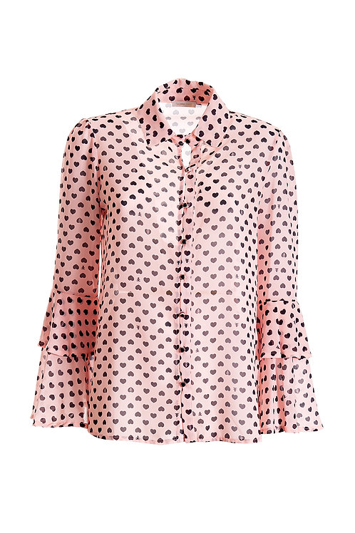017 FLARE BLOUSE