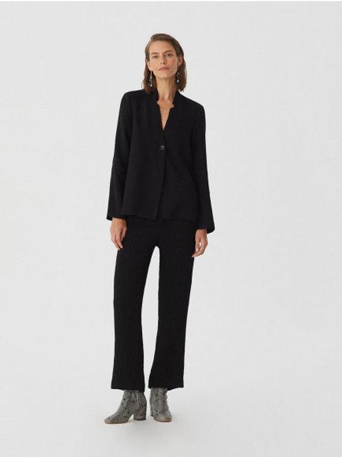 Texture fabric tailor pants