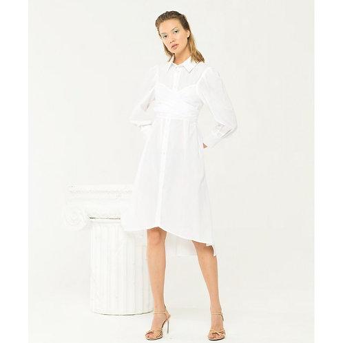 Midi Dress White