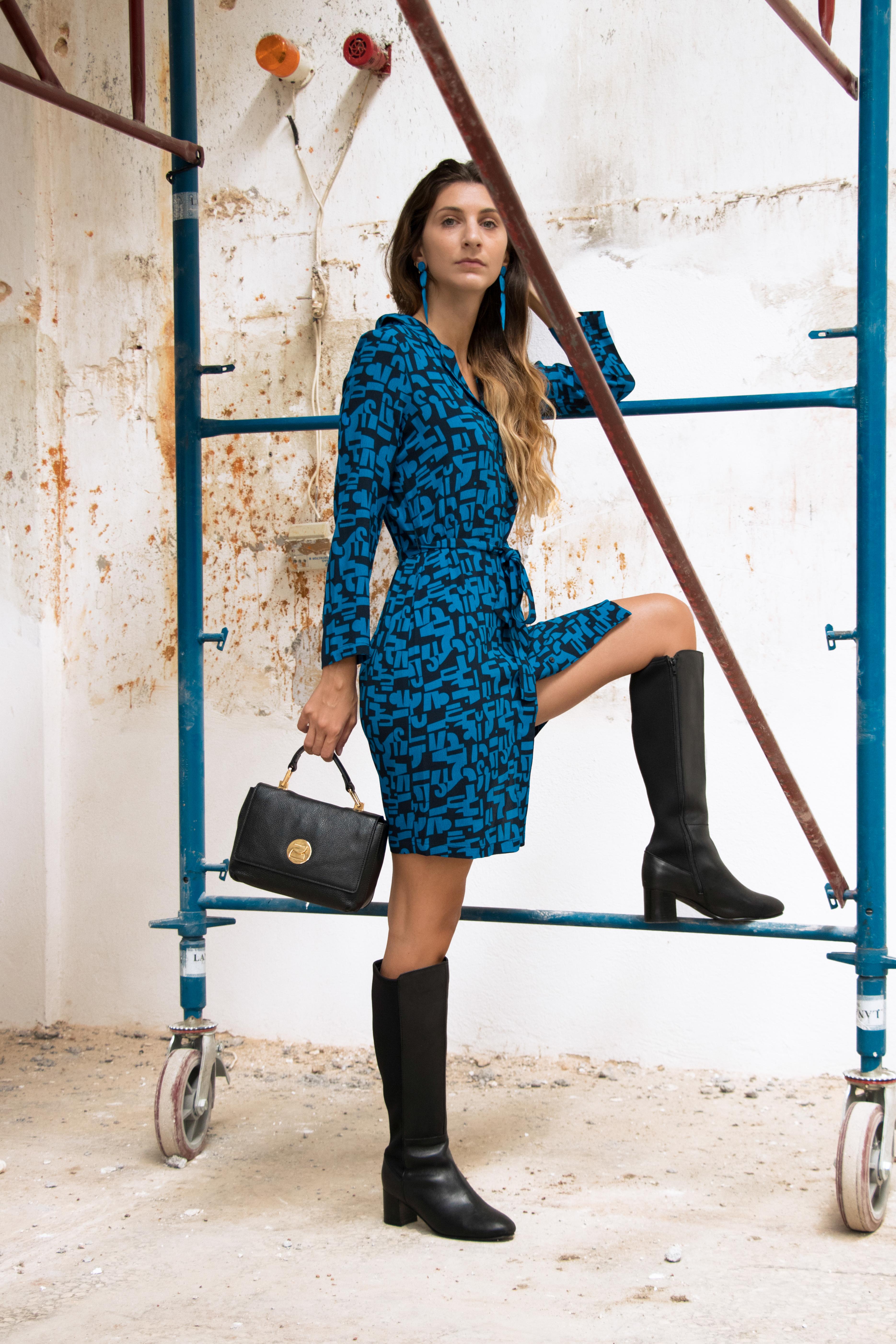 Nicethings print dress Liya Coccinelle.