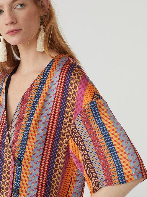 Kimono Ties Print