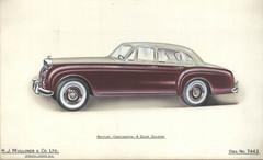 4 - H. J. Mulliner Bentley Continental 4 door Saloon