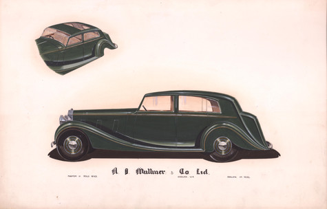 46 - H.J. Mulliner Rolls-Royce Phantom III