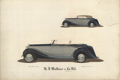 1 - H. J. Mulliner 'Wraith' Rolls-Royce
