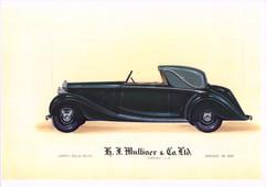 33 - H. J. Mulliner 'Wraith' Rolls-Royce