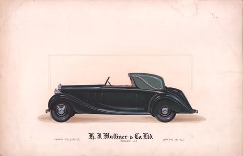 37 - H. J. Mulliner 'Wraith' Rolls-Royce