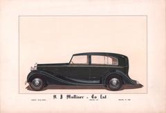 36 - H. J. Mulliner 'Wraith' Rolls-Royce