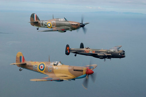 "The RAF ""Battle of Britain"" Flight"