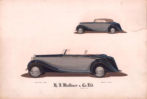41 - H. J. Mulliner 'Wraith' Rolls-Royce