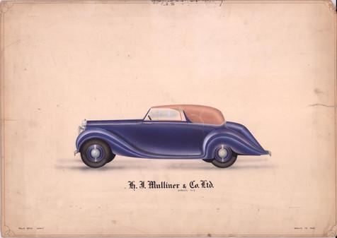 35 - H. J. Mulliner 'Wraith' Rolls-Royce