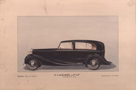 24 - H.J. Mulliner Rolls-Royce 25/30